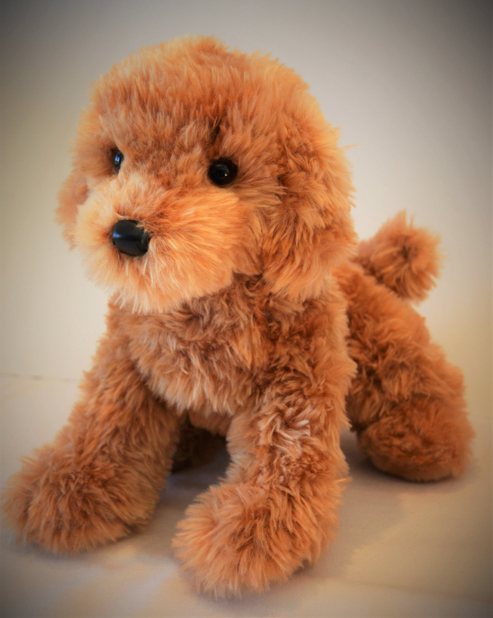 Goldendoodle Dog Stuffed Toy For Seniors And People With