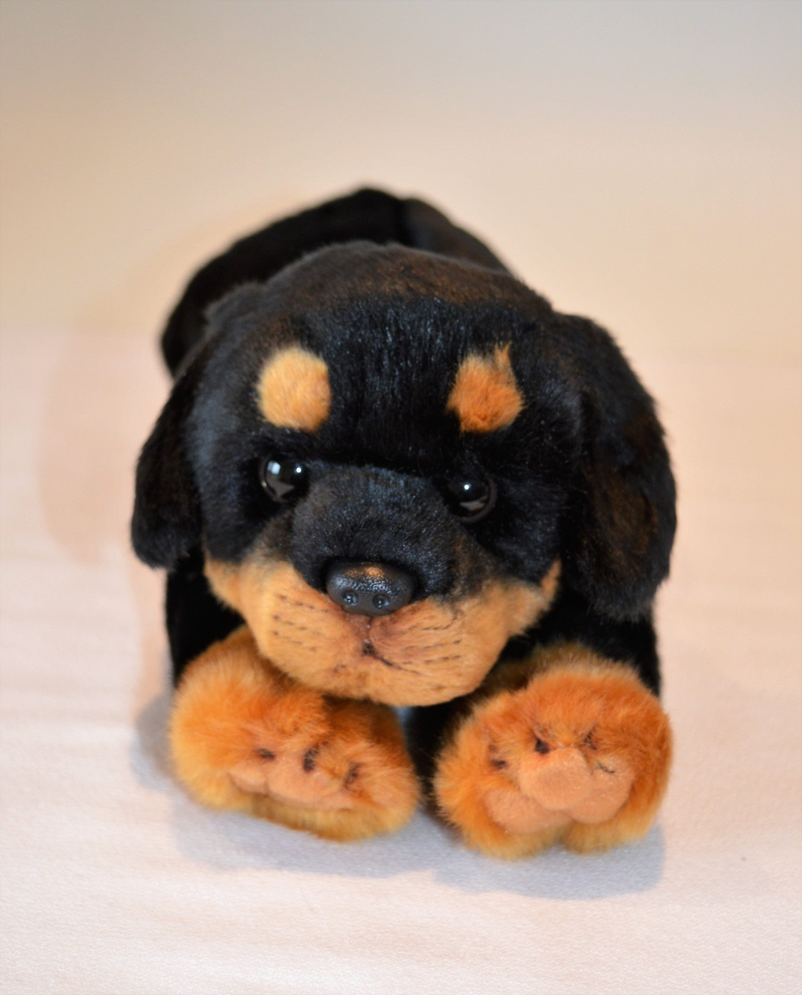 Mini Boxer Puppy Stuffed Toy For Seniors And People With Alzheimers