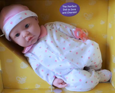 "Unisex Baby ""Rose"" - Doll Therapy for People with Alzheimer's and Caregivers"