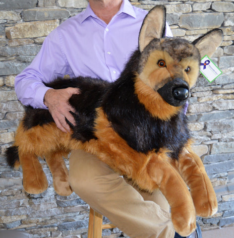 Huge German Shepherd Dog for People with Alzheimer's by SPECIAL ORDER (2 weeks delivery)