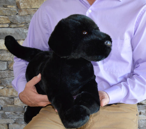 Extra Large Black Lab Dog for People with Alzheimer's by SPECIAL ORDER