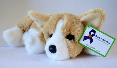 Reclining Corgi for People with Alzheimer's and Caregivers