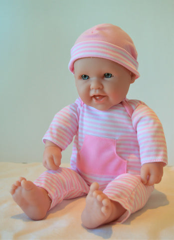 "Baby Girl ""Annie"" - Doll Therapy for People with Alzheimer's and Caregivers"