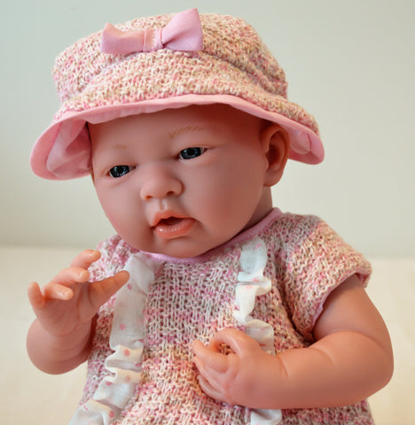 "Baby Girl ""Frances"" - Doll Therapy for People with Alzheimer's and Caregivers"