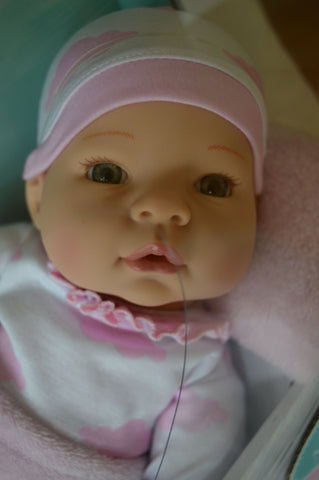 Madame Alexander's Middleton Doll Newborn Baby Pink Clouds - Light Skin