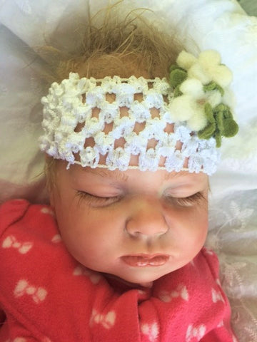 Reborn Believable Babies - Sleeping Baby Girl Emma - Doll Therapy for People with Alzheimer's