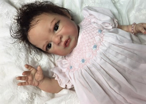 Reborn Believable Babies - Baby Girl Jeana- Doll Therapy for People with Alzheimer's