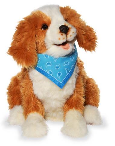 NEW Joy For All- Robotic Freckled Dog Companion Pet for Alzheimer's and Caregivers