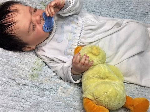 "Reborn Believable Babies - Sleeping Baby ""Harper"" Full Bodied Torso - Doll Therapy for People with Alzheimer's"