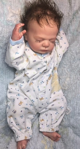 "Reborn Believable Babies - Sleeping Baby ""Harry"" Full Bodied Torso - Doll Therapy for People with Alzheimer's"