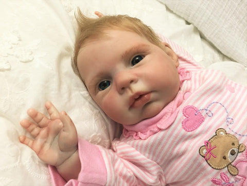 Reborn Believable Babies - Baby Girl Honey - Doll Therapy for People with Alzheimer's