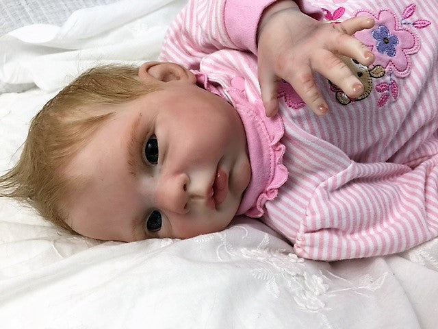 Reborn Believable Babies Baby Girl Honey Doll Therapy