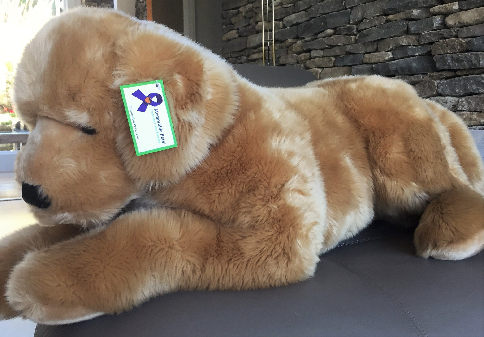 Golden Retriever Stuffed Toy For Seniors And People With Alzheimer S