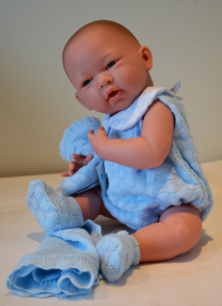 "Baby Boy ""Jim"" Blanket Gift Set- Doll Therapy"