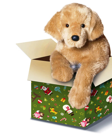 Huge Golden Retriever Dog for People with Alzheimer's by SPECIAL ORDER (2 weeks delivery)