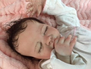 Reborn Believable Babies - Sleeping Baby Girl Leila - Doll Therapy for People with Alzheimer's