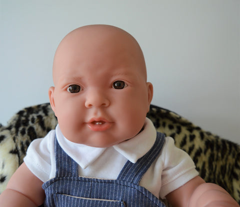 "Baby Boy ""Luke"" - Doll Therapy for People with Alzheimer's and Caregivers"