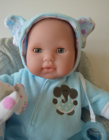 Baby Michael with OPEN & CLOSE eyes- Doll Therapy for People with Alzheimer's and Caregivers