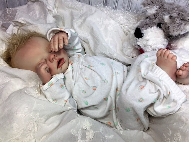 Reborn Believable Babies Sleeping Baby Girl Samantha Doll Therapy Memorable Pets