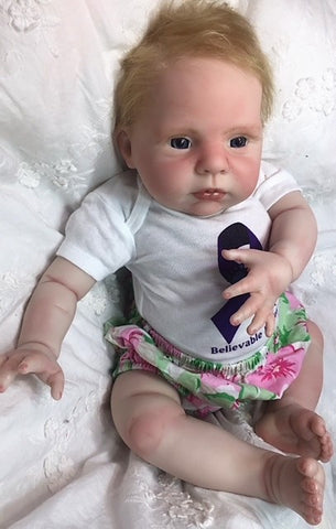 Reborn Believable Babies - Baby Girl Sarah- Doll Therapy for People with Alzheimer's