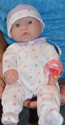"Unisex Baby ""Sonny"" - Doll Therapy for People with Alzheimer's and Caregivers"