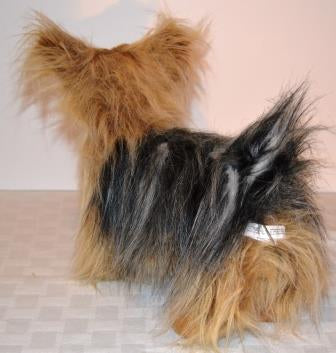 Standing Yorkshire Terrier Companion for People with Alzheimer's and Caregivers