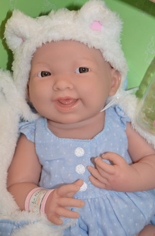 "Baby ""Susie"" REAL GIRL Gift Set - Doll Therapy for People with Alzheimer's and Caregivers"