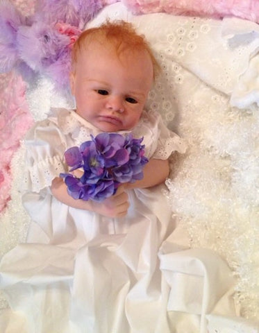 Reborn Believable Babies - Baby Girl Violet - Doll Therapy for People with Alzheimer's