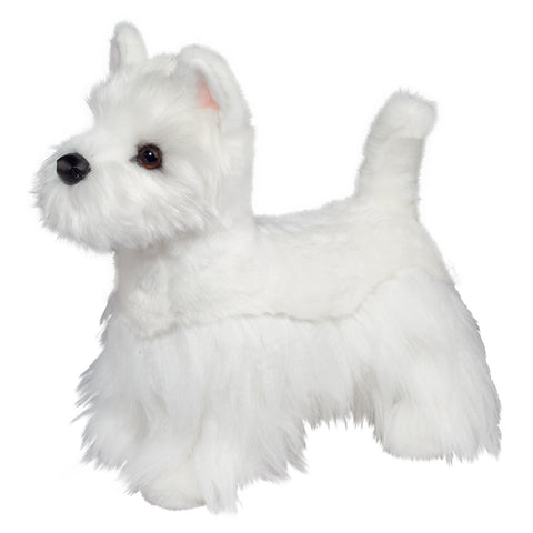 Standing Westie Terrier Companion for People with Alzheimer's and Caregivers