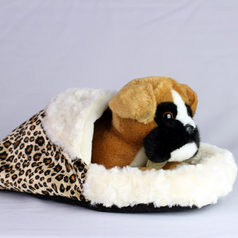 Snuggly Sleeping Bag for Mini Dogs, Puppies & Kittens
