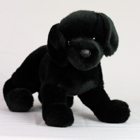 Black Lab Stuffed Toy For Seniors And People With Alzheimer S