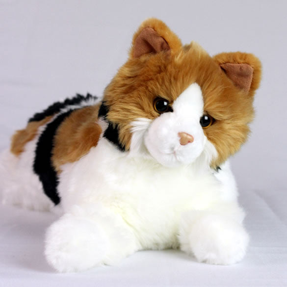 Toys For Elderly : Calico cat stuffed toy for seniors and people with
