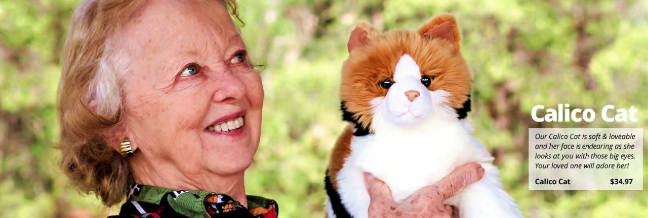 Stuffed Animal Gifts for Alzheimer's Patients | Memorable Pets