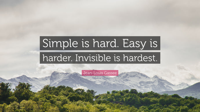 Easy Is Hard because Easy Is Invisible