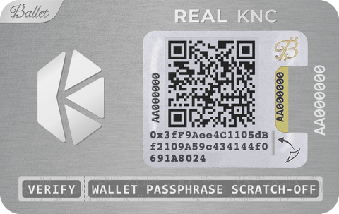 REAL Kyber Network Coin (KNC)