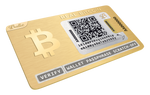 24K Gold-Plated REAL Bitcoin