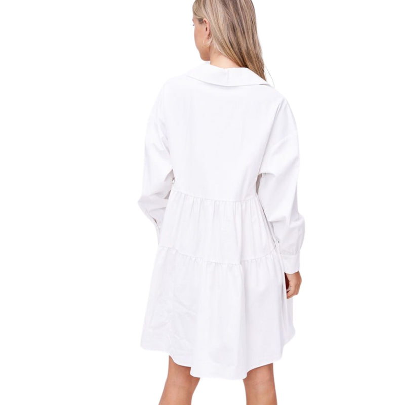 Poplin Mini Dress by En Saison