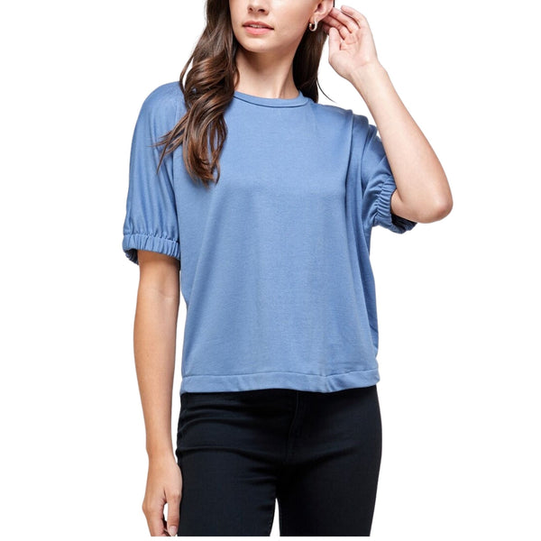 Dolman Back Zipper Top