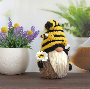Bumble bee gnome--Summer gnome decor,Mother day gift - Little froging