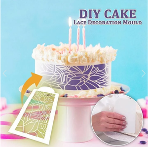 DIY Cake Lace Decoration Mould - Set of 8 - Chica Sol
