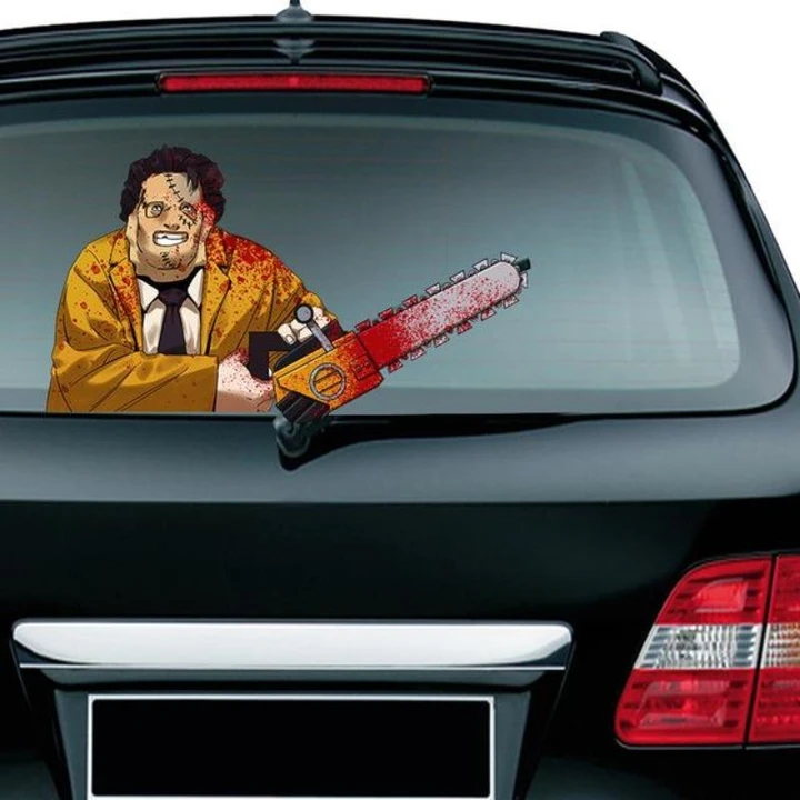 Halloween Horror Series Car Waving Wiper Stickers - Chica Sol