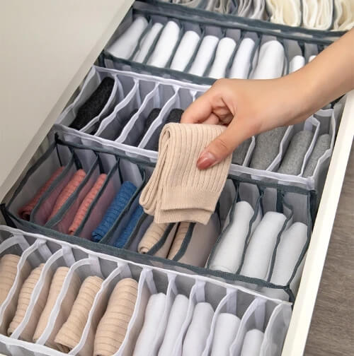 Underwear storage box compartment - Chica Sol