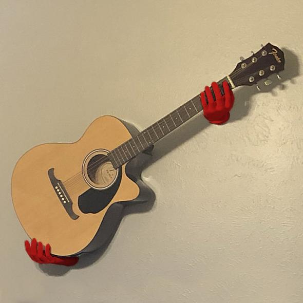 3D Hands Guitar Wall Mount Hanger [The only genuine] [BUY 2 FREE SHIPPING] - Little froging
