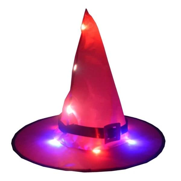 🎃Limited Time Special Only $9.99🎃 Glowing Witch Hat Hanging/Wearable - Chica Sol
