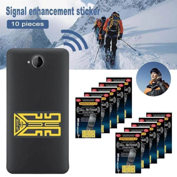 [Buy 3 Get 2 Free] Phone signal enhancement stickers - Chica Sol