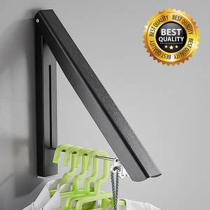 (Buy 2 Free Shipping)Never Rust - Collapsible Wall Mounted Drying Rack - Chica Sol