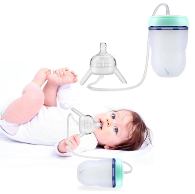 Hands Free Baby Bottle - Little froging