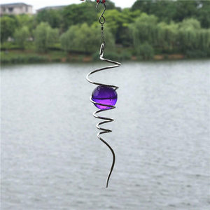 Wind Spinner Ball Spiral Tail - Little froging