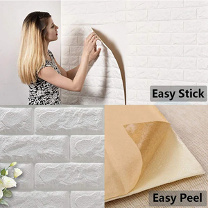 3D Wall Panels Peel and Stick Wallpaper -30.3inchx30.3inch - Chica Sol
