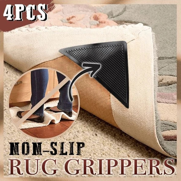 Non-slip Rug Grippers (Set of 4) - Little froging
